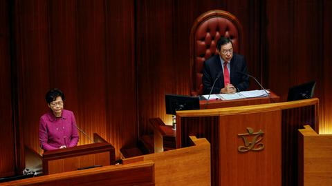 Hong Kong's delayed legislative elections set for December