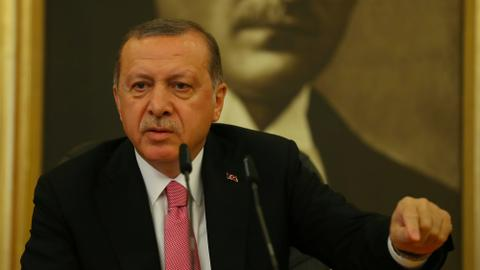 Erdogan says US charges against former minister purely political