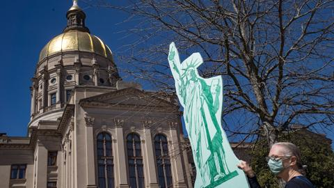 Big businesses push back against GOP-led restrictive voting bills and laws