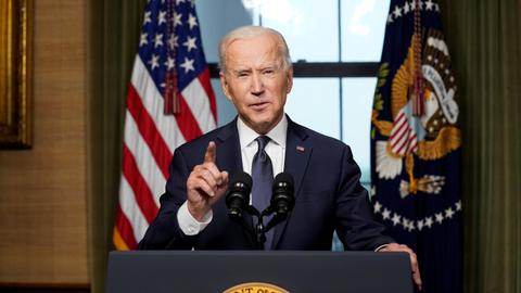 Biden announces US troop withdrawal from Afghanistan, cautions Taliban