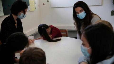 France offers free therapy for children affected by virus  – latest updates
