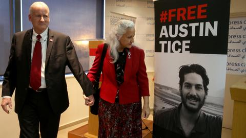 Biden team has 'sincere belief' that Austin Tice is alive
