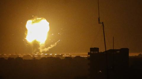 Israeli army launches air strikes on Gaza Strip