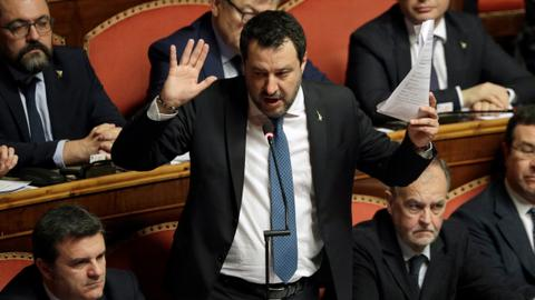 Italy's Salvini to stand trial for blocking migrants ship in 2019