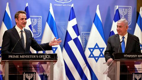 Greece, Israel ink record defence agreement