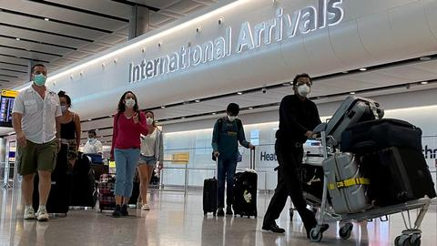 UK adds India to travel 'red list' after virus surge – latest updates