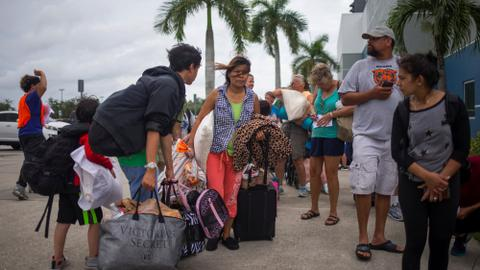 Mass exodus in Florida as Hurricane Irma approaches
