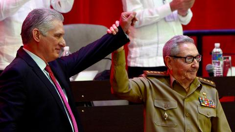 Era ends as Cuba's Raul Castro retires leaving Diaz-Canel in charge