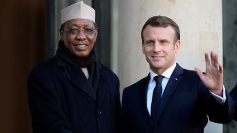 Who was Chad's President Idriss Deby?