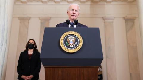 Biden: 'Systemic racism' in US a 'stain on nation's soul'