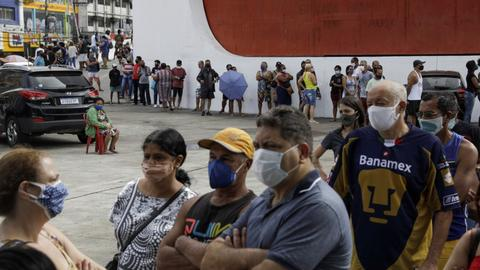 Brazil sees nearly 3,500 new Covid-19 deaths  – latest updates