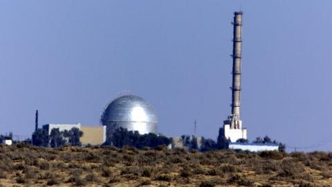 'Syrian missile' strikes near Israel's Dimona nuclear reactor