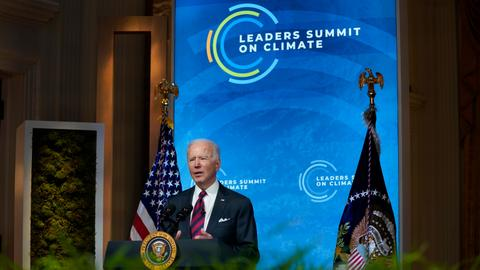 Biden pledges to double climate aid for developing countries