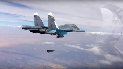 Russian airstrikes kill 34 civilians near Deir Ezzor in Syria