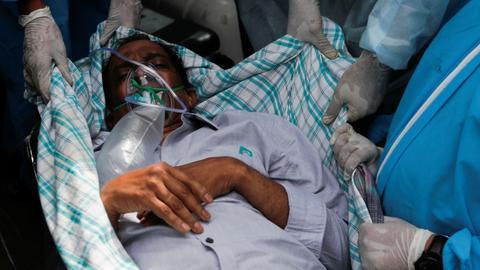 Fire kills several Covid-19 ICU patients at hospital near India's Mumbai