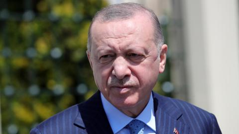 Erdogan: Greek Cypriots dishonest in talks over island