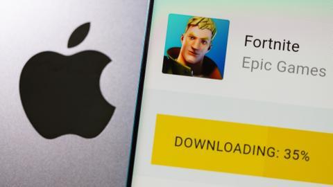'Fortnite' game maker sues Apple over app store