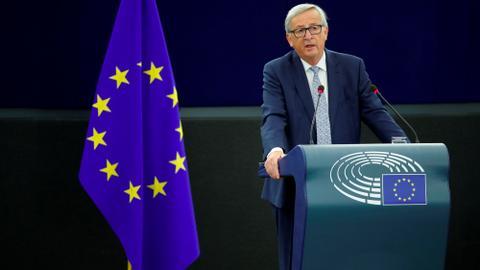 Juncker says EU bouncing back after crisis-hit decade