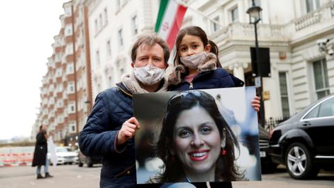 Is Iran using an activist's detention to secure $554 million from the UK?