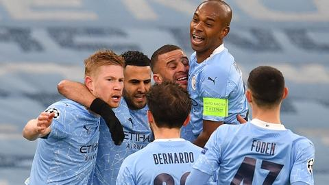 Man City cruise to their first Champions League final after beating PSG