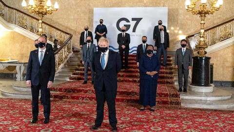 G7 hits out at China, Russia over rights abuses after London talks