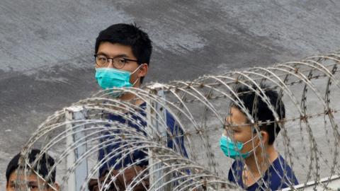 Hong Kong's Joshua Wong jailed for additional 10 months for Tiananmen vigil