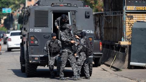 Police raid in Rio de Janeiro slum leaves dozens dead