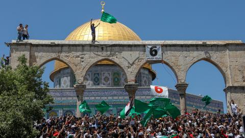 In pictures: Quds Day rallies denounce Israel, its ally US