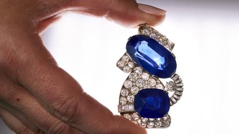 Kashmir sapphire, Italian tiara on sale at Sotheby's auction