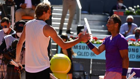 Nadal defeated by Zverev in Madrid Open quarters