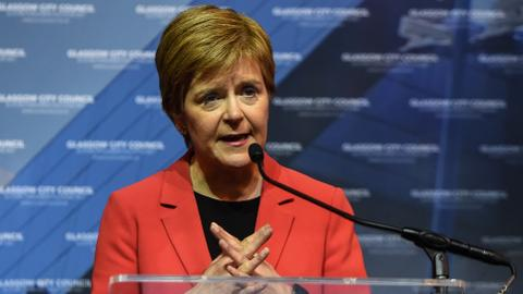 Scotland's Nicola Sturgeon says 'no justification' to block referendum