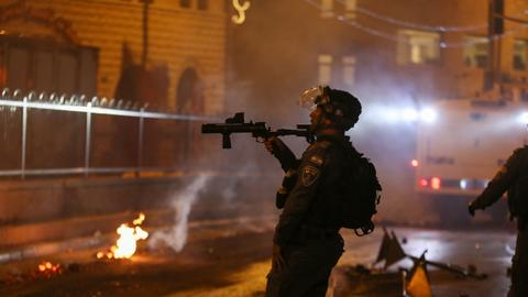 President Erdogan denounces 'terrorist' Israel over Jerusalem aggression