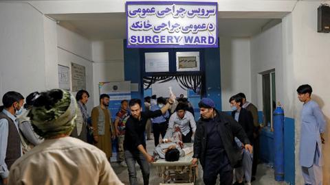 Blast near girls school in Afghan capital Kabul kills scores