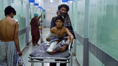 Several killed after roadside bomb strikes bus in Afghanistan
