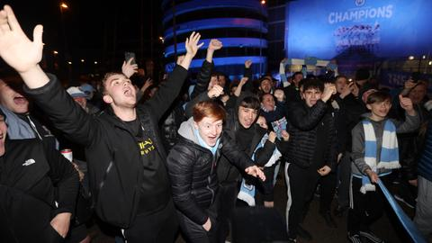 Manchester City clinch third Premier League title in four seasons