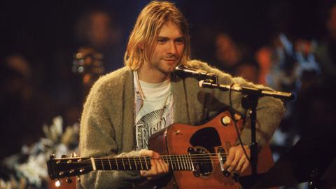 How much for a lock of Kurt Cobain's hair?