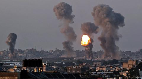 Death toll from relentless Israeli air strikes in Gaza soars to 67