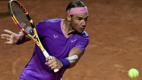 Nadal opens bid for 10th Italian Title with victory over Sinner