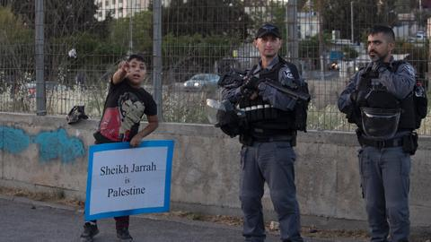 'Efforts to diminish Palestinians in Jerusalem was clear from an early age'