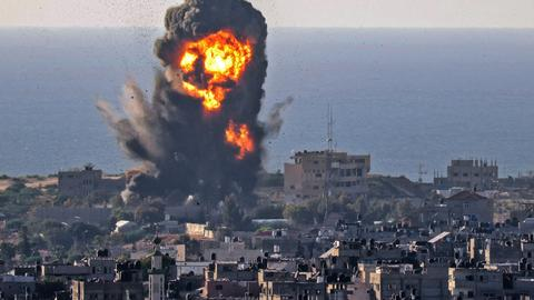 Gaza marks Muslim festival Eid surrounded by war as Israeli bombs kill 103