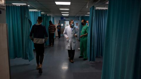 Gaza's healthcare system buckles under strain of Israeli attacks, Covid-19