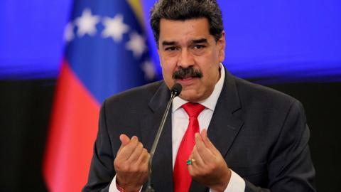 Venezuelan diplomat 'kidnapped' by the US, says President Nicolas Maduro