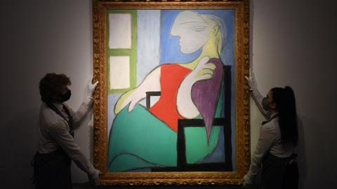 Picasso painting sells for $103M at Christie's