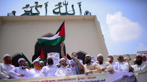 Israeli attacks on Palestine crushed the joy of Eid in Bangladesh