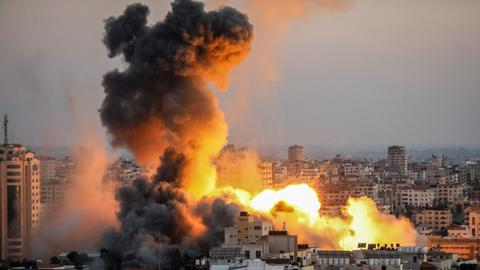 Gazans flee homes as death toll from Israeli attacks soars to 126