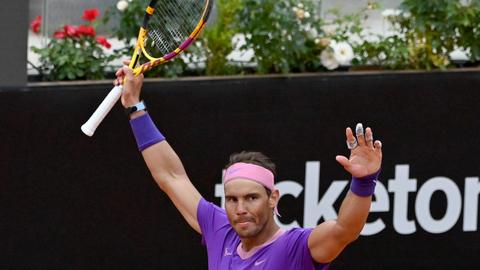 Nadal reaches Italian Open semis as he ends losing streak against Zverev