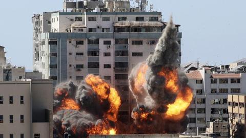 US asks Israel for 'justification' as AP calls for Gaza air strike probe