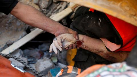 UN chief warns of 'uncontainable' crisis as Israel bombards besieged Gaza