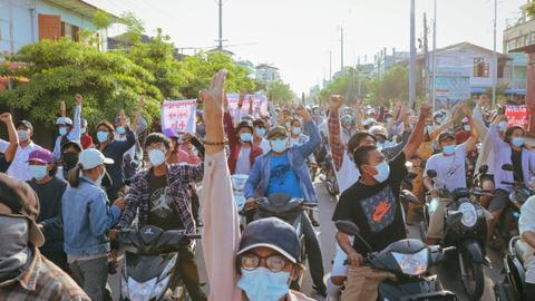 Myanmar junta hit by fresh Western sanctions