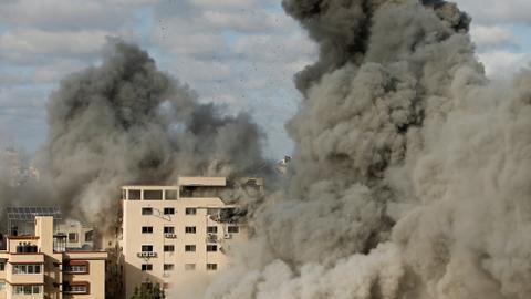 Biden tells Netanyahu he backs 'ceasefire' amid Israeli attacks on Gaza